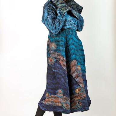 Coat Turquoise Russet