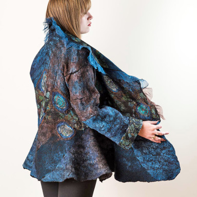 Jacket Turquoise Russet