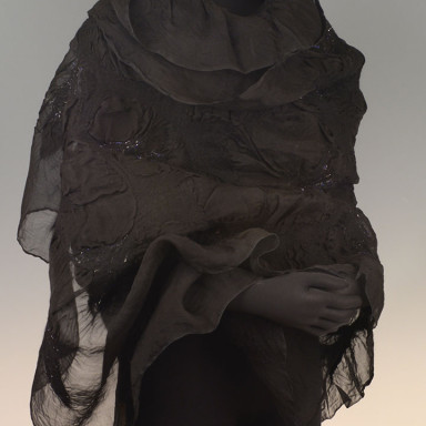 Organza Wrap – Black