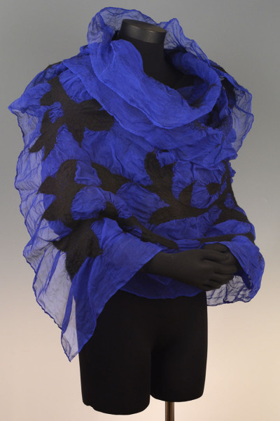 Organza Wrap – Deep Blue