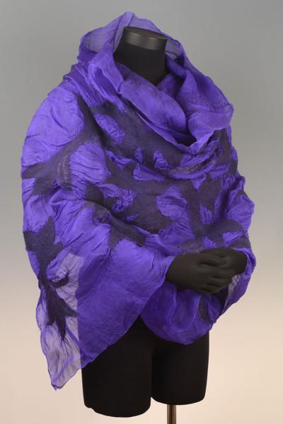 Organza Wrap – Violet